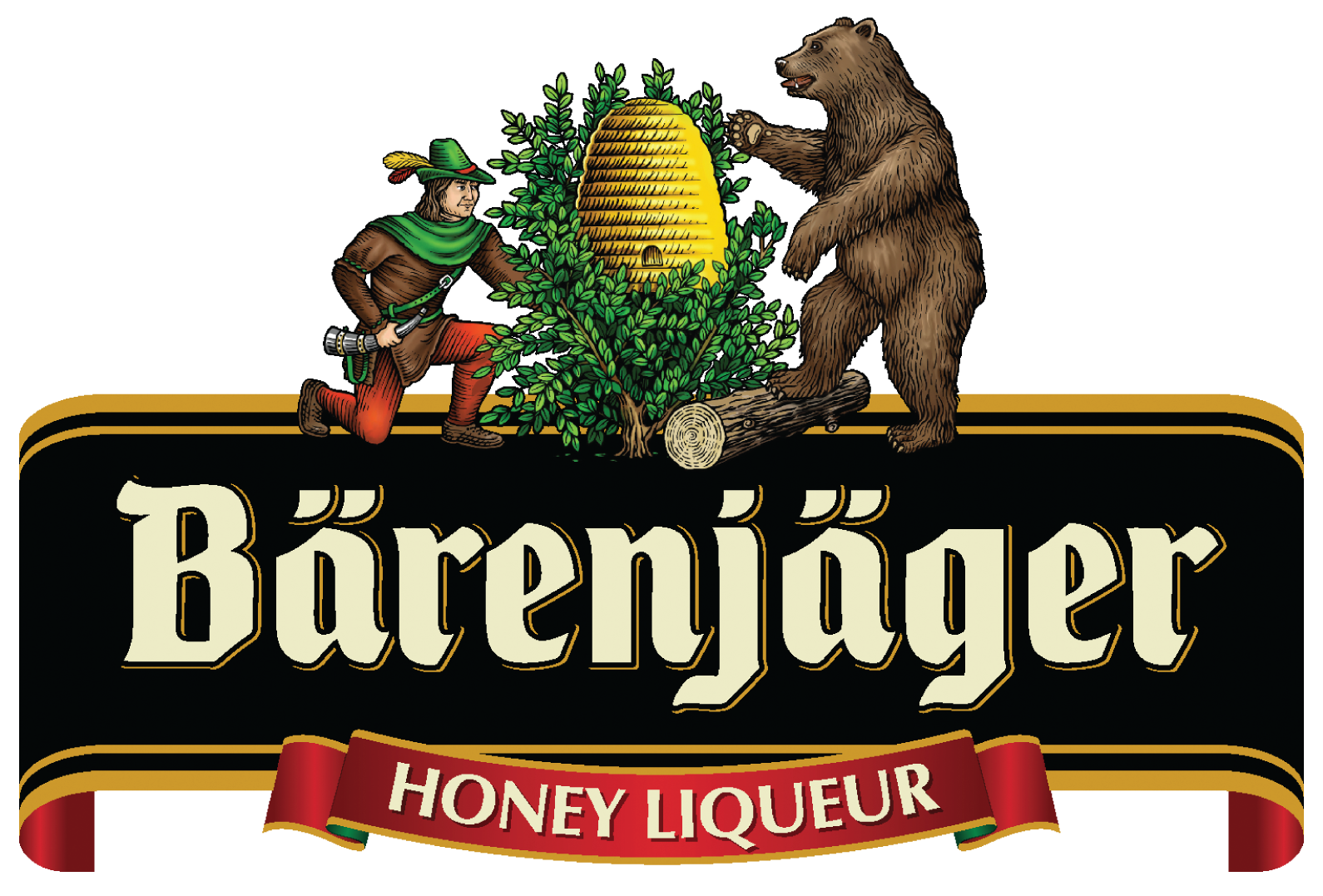 Bärenjäger Honey Liqueur Retina Logo